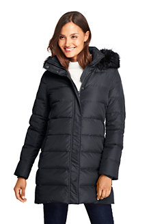 Women's Fur Hooded Down Coat