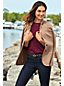 Le Cardi-Blazer en Laine Mérinos et Coton, Femme Stature Standard