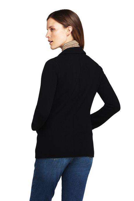 Women's Petite Sweater Blazer