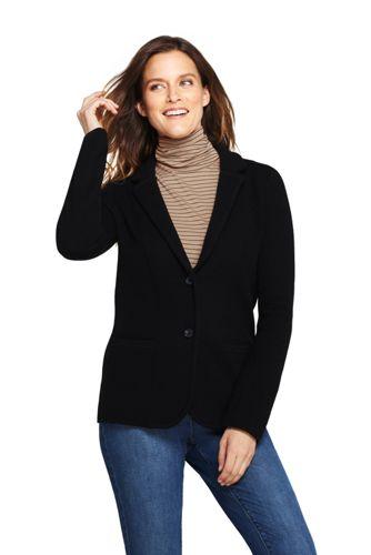 Women's Merino Blend Knit Blazer