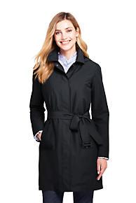 3705ea038cad7 Women s Hooded Waterproof Long Raincoat
