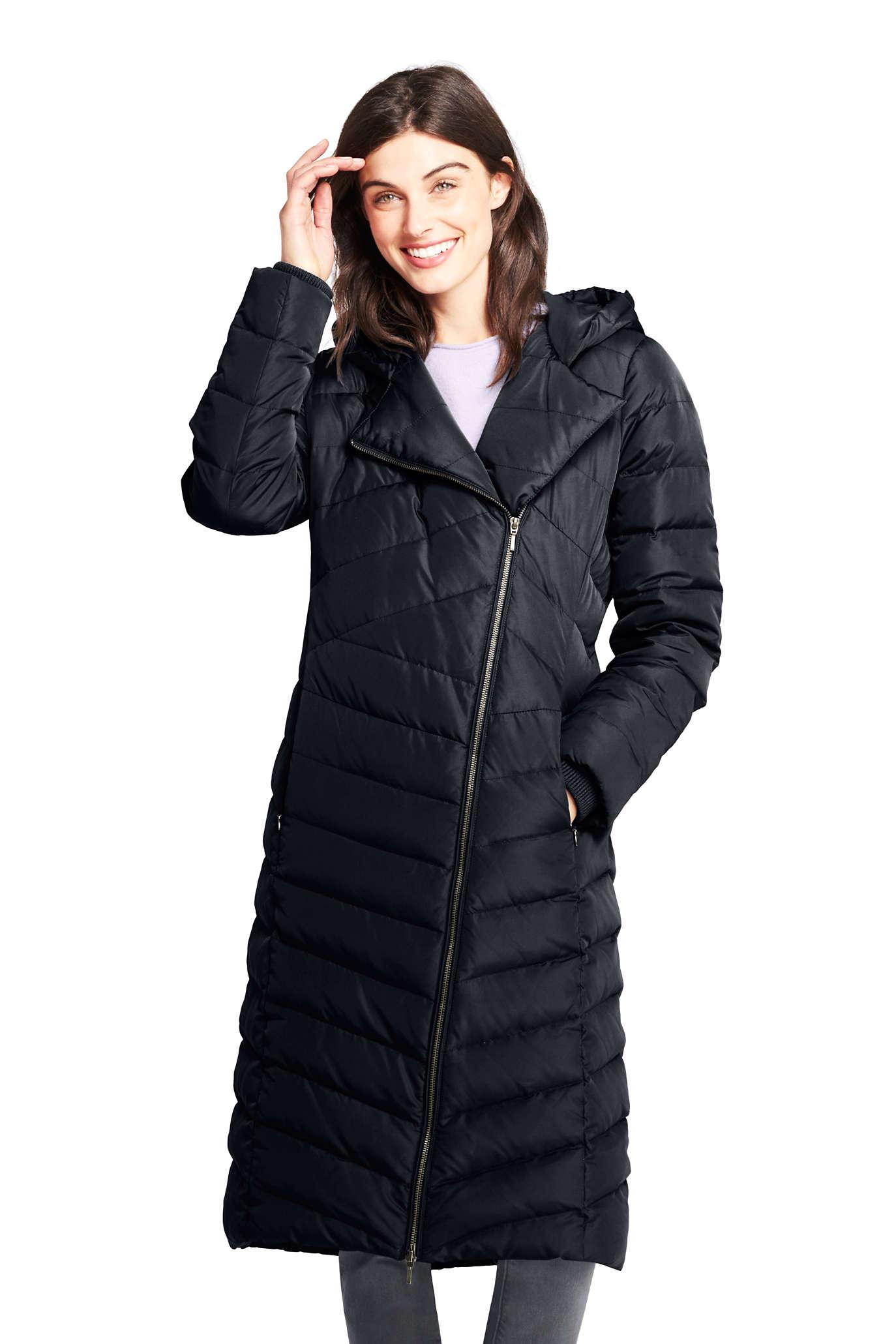 Women's Asymmetrical Down Winter Long Coat