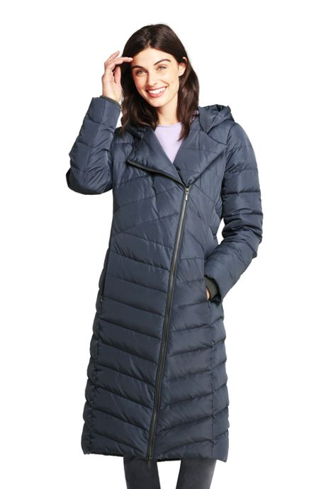 Women's Asymmetrical Down Winter Long Coat