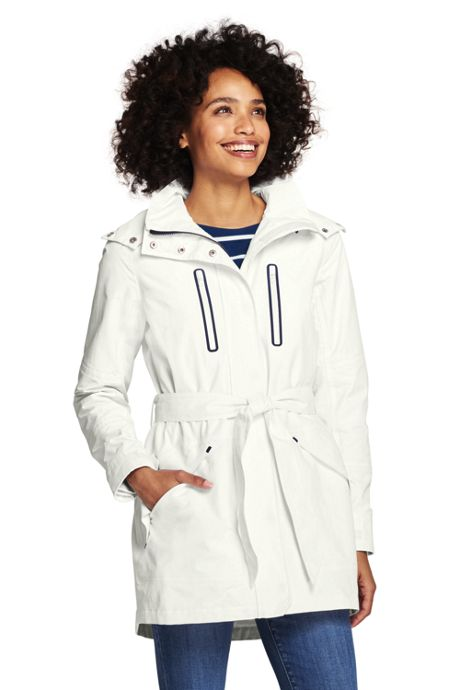 Women's Lightweight Belted Squall Raincoat