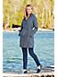 Le Manteau Imperméable à Doublure Amovible et Ceinture, Femme Stature Petite