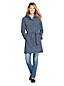 Women's Petite Hooded Waterproof Raincoat