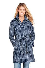 Women's Tall Hooded Waterproof Long Rain Coat