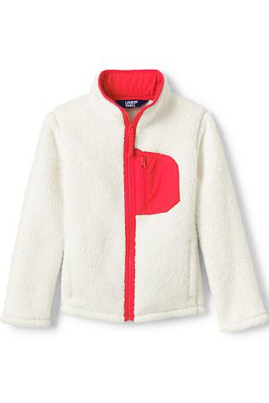 f6a00f058 Kids' Sherpa Fleece Jacket | Lands' End
