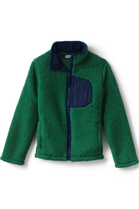 Kids Sherpa Fleece Jacket