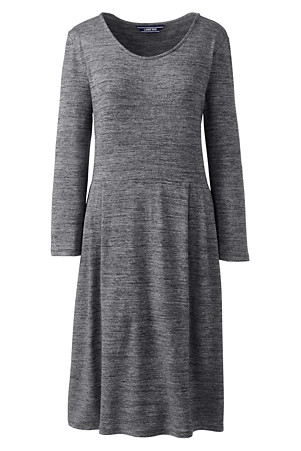 3d3c6513591 Women's Scoop Neck Cloudspun Jersey Dress | Lands' End