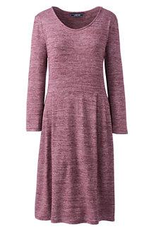 Women's Scoop Neck Airspun Jersey Dress