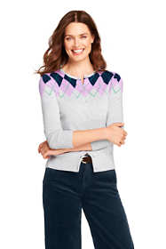 Women's Petite Supima Cardigan Sweater