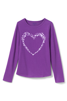 Girls' Long Sleeve Graphic Tee