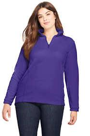 Women's Plus Size Quarter Zip Fleece Pullover