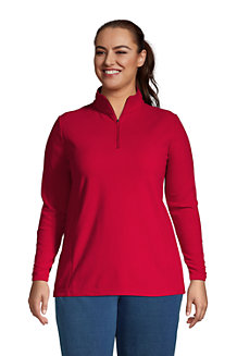 Women's Half Zip Fleece Top