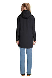 Women's Petite Squall 3 in 1 Waterproof Winter Long Coat with Hood, Back