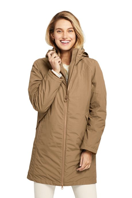 Women's Petite 3 in 1 Long Squall Coat