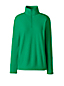 Women's Plus Half Zip Fleece Top