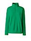 Fleece-Pullover mit Reißverschluss für Damen in Plusgröße