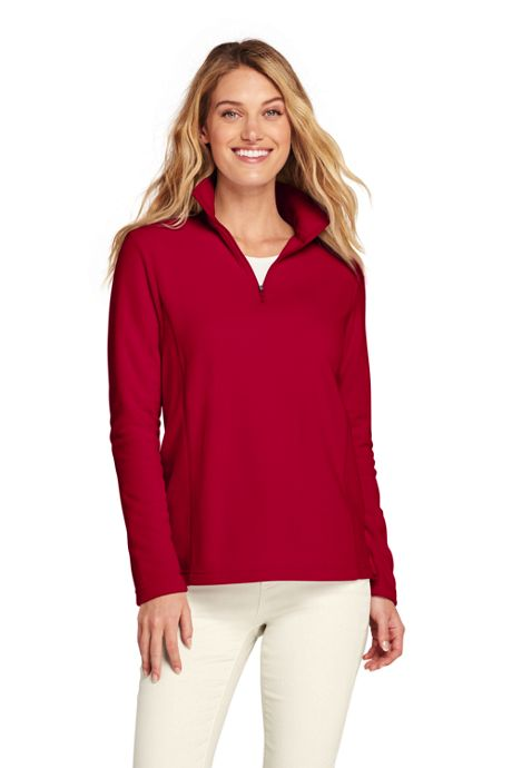 Women's Tall Quarter Zip Fleece Pullover