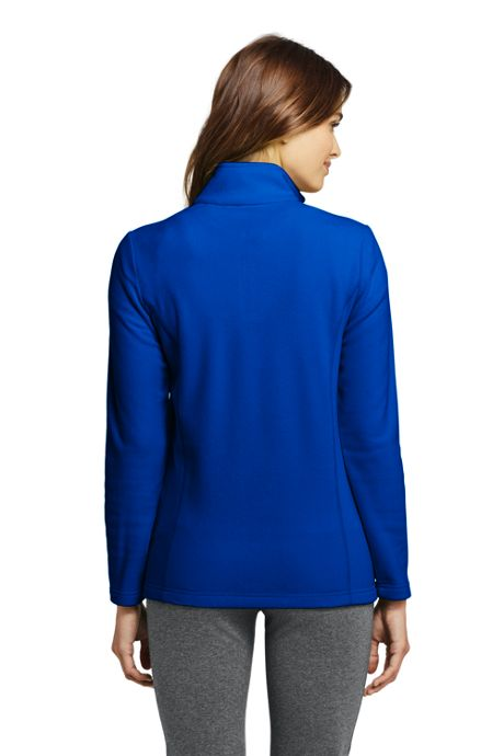 Women's Quarter Zip Fleece Pullover Top
