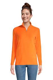 Women's Quarter Zip Fleece Pullover Top