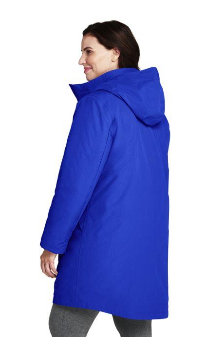 Women's Plus Size 3 in 1 Long Squall Coat
