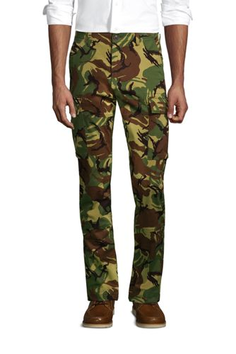 Men's Slim Fit Comfort-First Cargo Trousers