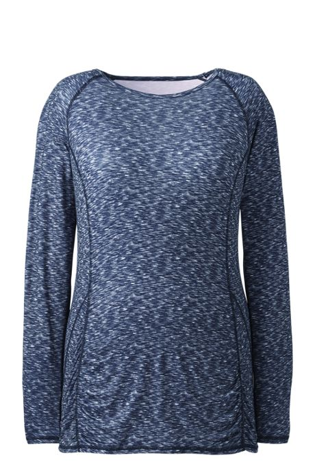 Women's Plus Size Long Sleeve T-shirt