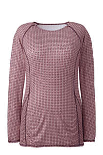 Women's Plus Size Long Sleeve T-shirt, Front