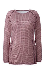 Women's Plus Size Long Sleeve T-shirt