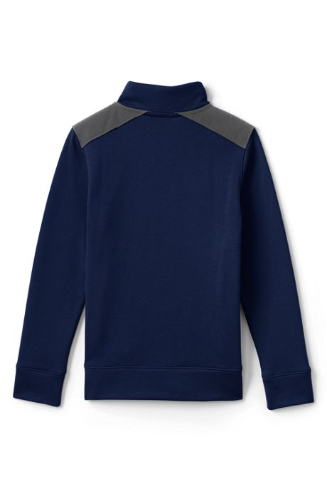 Little Boys Quarter Zip Pullover