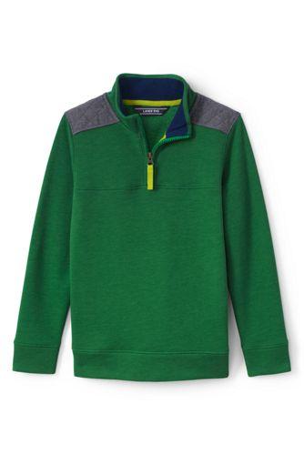 Sweatshirt mit Reißverschluss für große Jungen