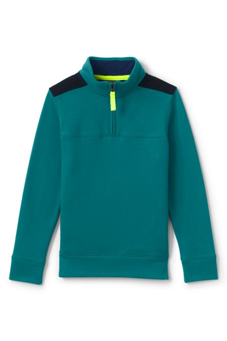 Boys Quarter Zip Pullover