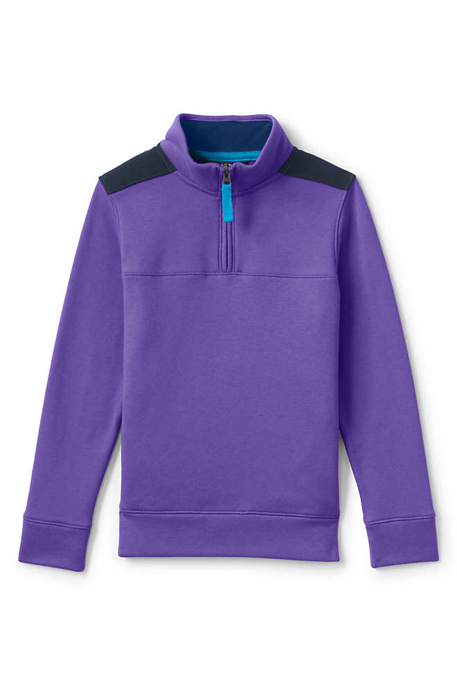 Boys Quarter Zip Pullover, Front