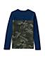 Le T-Shirt Blocs de Couleurs en Coton Flammé, Garçon