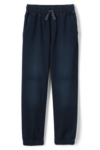Le Pantalon de Jogging Allure Jean Genoux Renforcés, Garçon