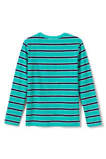 Boys Slub Knit Tee Shirt, Back
