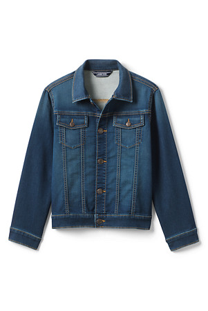 4ce6d2b17 Boys' Soft Denim Jacket | Lands' End