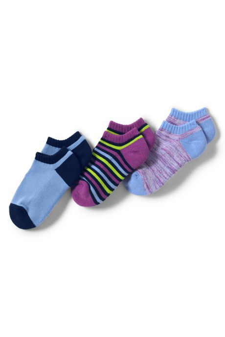 Girls Performance No-show Active Socks (3-pack)