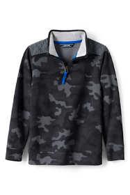 Boys Husky Half Zip Pullover