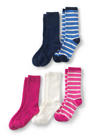 Girls Crew Socks (5-pack)