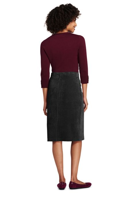 Women's Tall Sport Cord Skirt