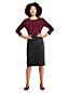 Women's Plus Sport Knit Cord Skirt
