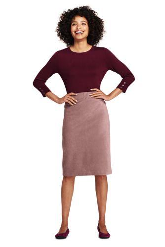 Women's Tweed Ponte Boot Skirt