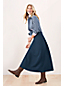 Women's Ponte Jersey Midi Skirt