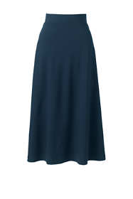 Women's Ponte Knit Boot Midi Skirt