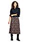 La Jupe Fleurie en Jersey Stretch, Femme Stature Standard