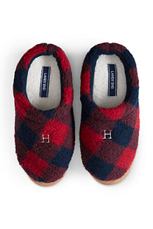 Women's Sherpa Fleece Clog Slippers