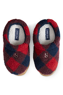 Kids' Sherpa Fleece Clog Slippers